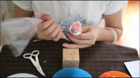 蛋糕怎么裱花 酷德韩式裱花蛋糕培训  裱花豆沙制作方法
