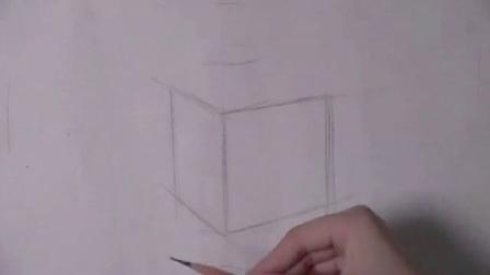 素描画基础 素描线条画法技巧 简单速写人物图片
