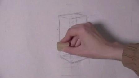 素描苹果视频教学视频 基础素描画入门 超简单建筑速写图片