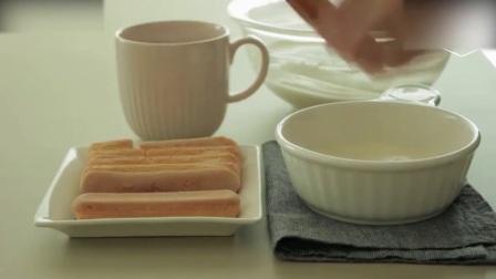 蛋糕裱花教学视频简化版提拉米苏, 喜欢可以试试! 奶油制作