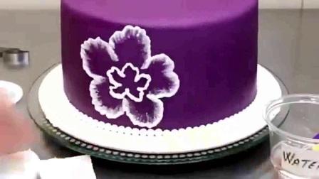芭比奶油蛋糕、韩式裱花、裱花蛋糕 高清君之的手工烘培.