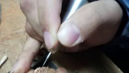 滴血莲花镂空立体雕刻教学