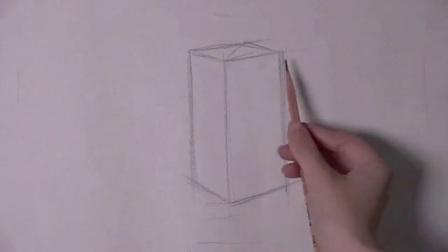 简单的素描画教程图片 动漫素描教学 现代建筑速写图片