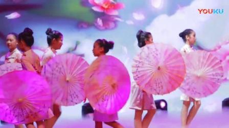 《十里桃花》少儿拉丁舞视频欣赏 单色舞蹈少儿拉丁舞学员 武汉连锁的儿童舞蹈培训班_高清