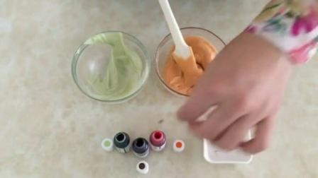 豆沙裱花 蛋糕裱花好学吗 曲奇裱花的基础手法