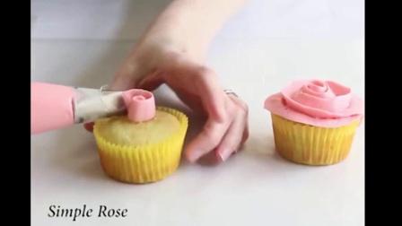 简单纸杯蛋糕做法。就是这么简单