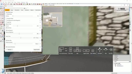使用Enscape实时渲染SketchUp - 真实感的视频等