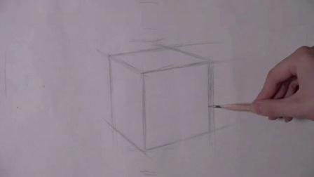 简单素描教程图片步骤 初学画画入门视频教程 学习铅笔画