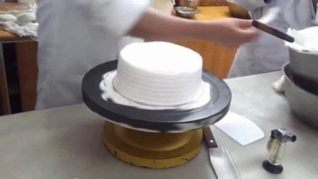 尚美奇西点蛋糕裱花MV教程水果裸蛋糕