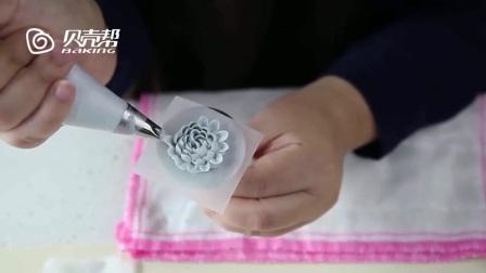 芭比蛋糕、奶油霜裱花、韩式裱花生日蛋糕做法