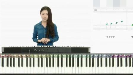 哪里学钢琴 钢琴左手指法顺序图 钢琴的入门