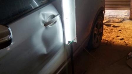 开封汽车凹陷免喷漆吸坑第一人,不钣金,不喷漆,不伤原车漆,培训学员