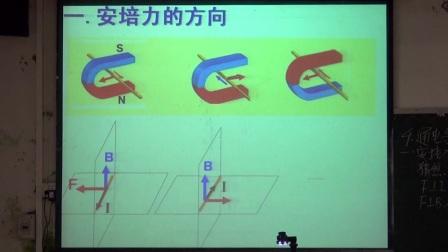 阳春二中人教版高二物理《通电导线在磁场中受到的力》陆军玲