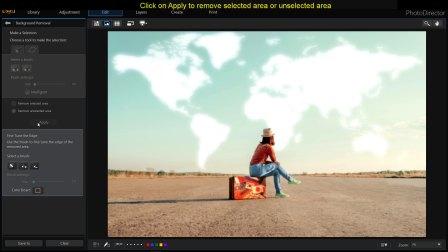 相片大师教学视频  ▏如何去背和合成图片