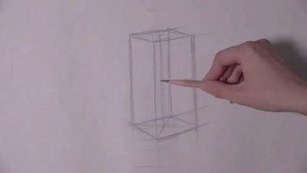 怎么画素描画卡通人物 风景速写临摹图片房屋