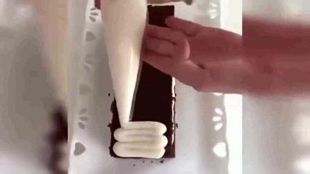 奶油蛋糕裱花 水果生日蛋糕裱花视频 裱花蛋糕