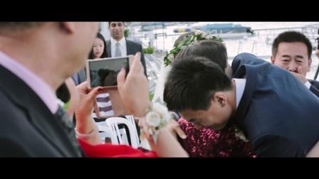 张哲溪和侯峥伊的婚礼