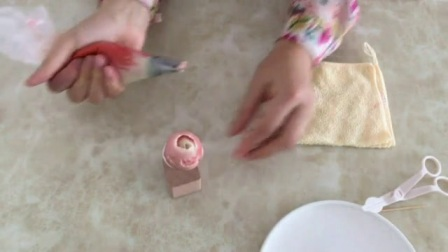 奶油裱花 裱花蛋糕的制作方法 新手裱玫瑰花入门视频