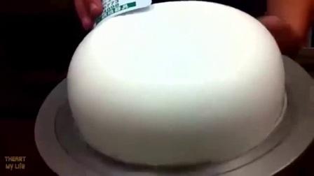 婚礼蛋糕 蛋糕油 糖霜蛋糕