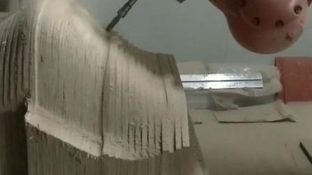 安派库卡机器人凳子曲目切割