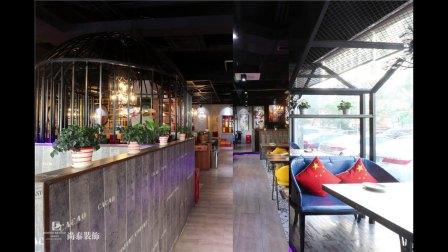 深圳装修-400平米工业风格枫林碗特色菜餐厅设计-尚泰装饰