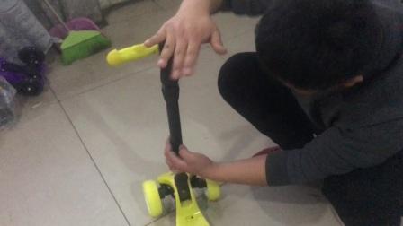 果冻轮滑板使用视频