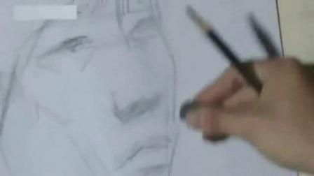 国画入门教学视频兰花, 速写图片, 水溶性彩色铅笔画教程