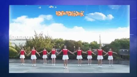 茉莉糖豆广场舞《你开心所以我快乐》团队演示   编舞:杨丽萍老师