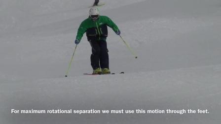 Tom Gellie 3D演示滑雪关节运动模式