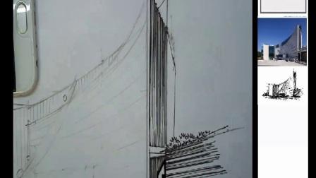 大禹手绘建筑快速表现系列2——手绘名师张云龙