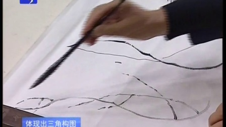 霍春阳花鸟画教学全28集  第13集