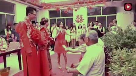 聪明的新娘改口喊婆家人,新娘的喊法把在场的人都羡慕极了