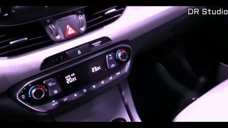 新2018款现代I30 Fastback 外观和内饰实拍