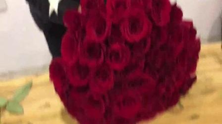 原野鲜花 插花图片 节玫瑰花束