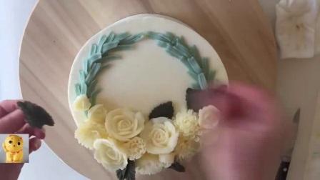 怎样做蛋糕 诺心蛋糕 菠萝巧克力蛋糕