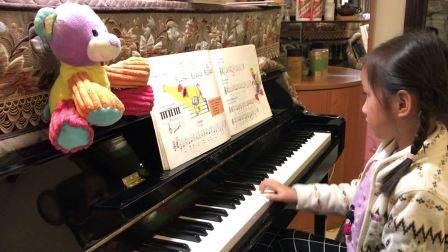 6岁佳佳巴斯蒂安钢琴教程基础一快告诉罗蒂姑妈