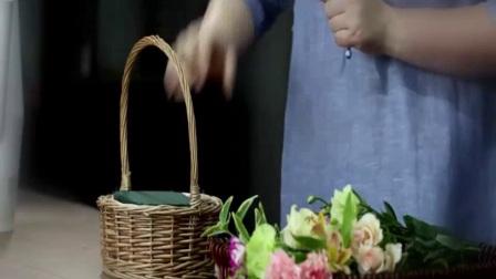 媞亚花艺视频培训-花束制作技巧