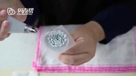 玫瑰裱花 生日蛋糕裱花图片大全 韩式裱花教程