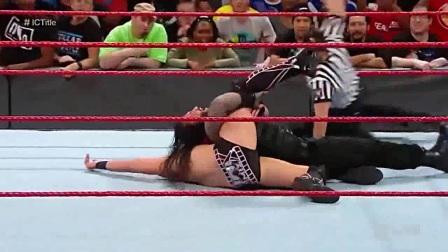 WWE2018年4月26日佰威首场TLC全美冠军梯子赛-WWE2K17生涯模式第46期