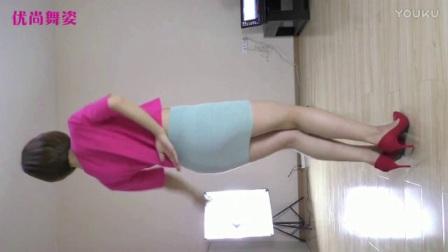 优尚舞姿 小爱 丝袜美女热舞七朵组合 - 蝴蝶恋 民族舞教学