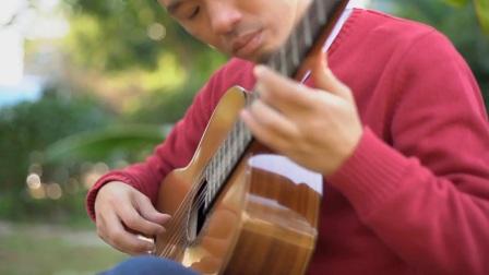 吉他独奏-雨滴