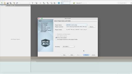 利用MPLAB®代码配置器设置USB时钟
