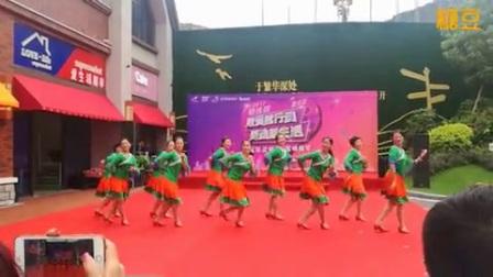 肇庆开心魅力舞队《康巴情》10人变队形获奖作品_广场舞视频教学在线观看_糖豆广场舞
