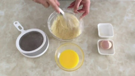 学习烘培 抹茶戚风蛋糕的做法6寸 烘培课