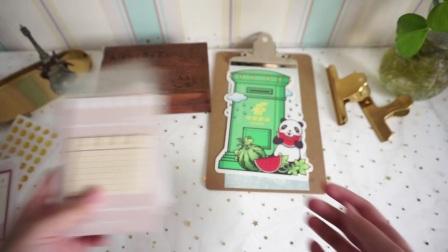 【LeftyMa】跨年vlog|2018一月购物分享|印章|火漆|贴纸|胶带手帐周边