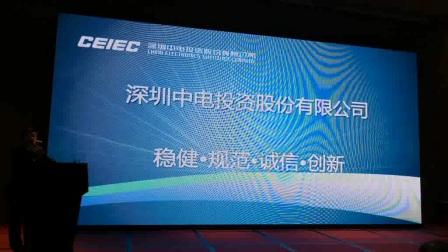 2017易能微电子春季快充新品发布会:中电投资总经理孙涛致辞