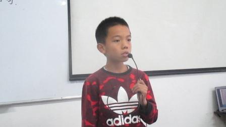 大世界作文学校四年级班王宝增讲故事《小猪唏哩呼噜》