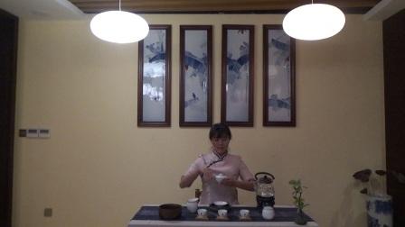 干泡茶艺表演【天晟138期、北京市赵婉瑞