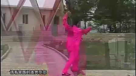 吴式简化三十六式太极剑教学【吴阿敏】_标清