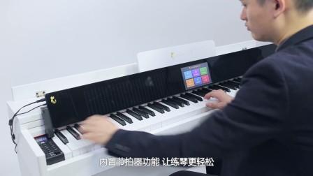 音乐猫88键电钢琴产品介绍视频